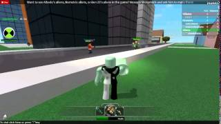 getlinkyoutube.com-ben 10 roblox the secret of the omnitrix part 1