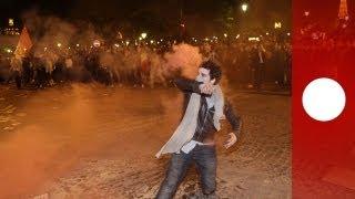 getlinkyoutube.com-Matrimonio gay: degenera protesta a Parigi