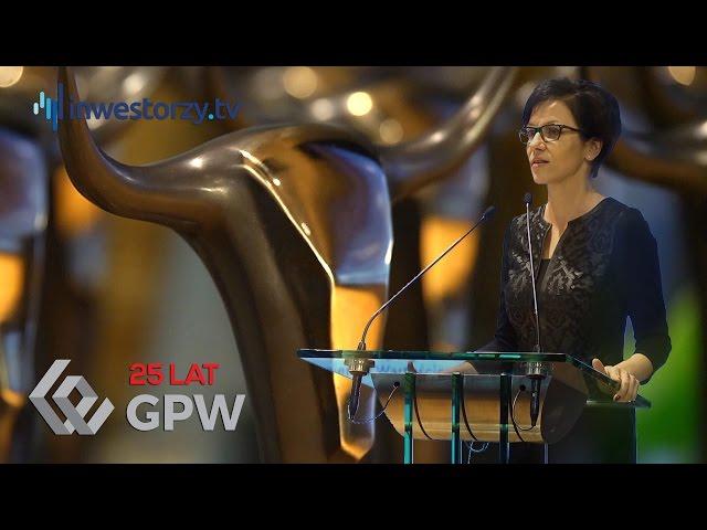 Przemówienie Małgorzaty Zaleskiej podczas Uroczystości Wręczenia Nagród Za Osiągnięcia w 2015 roku