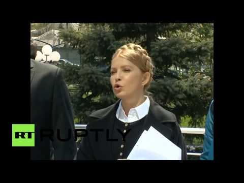 Ukraine: Tymoshenko suggests amnesty for occupiers