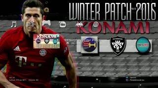 getlinkyoutube.com-PES 2013 Winter Patch 2016 PS3 preview