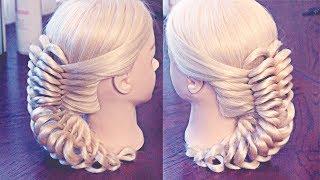 getlinkyoutube.com-Pigtail - Коса с резинками - Hair tutorial - Hairstyles by REM
