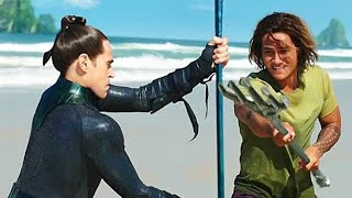 Young Aquaman and Vulko Training Scene   Aquaman