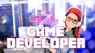 getlinkyoutube.com-Unbox Daily: Barbie Game Developer - Doll Review - 4K