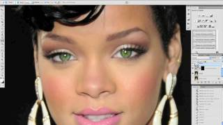getlinkyoutube.com-tuto photoshop retouche des yeux mode partie 2 en francais HD