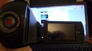 getlinkyoutube.com-ремонт видеокамеры SAMSUHG HMX-Q10BP  начало