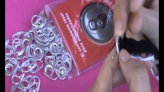getlinkyoutube.com-Monedero de anillas de latas de refresco