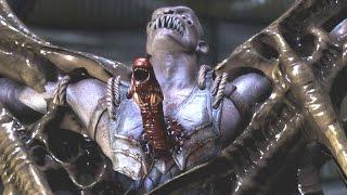 getlinkyoutube.com-Mortal Kombat XL - Alien Chestburster on All Characters/NPCs (Including Baraka)