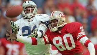 getlinkyoutube.com-Jerry Rice: A Football Life - Rivalry with Deion Sanders