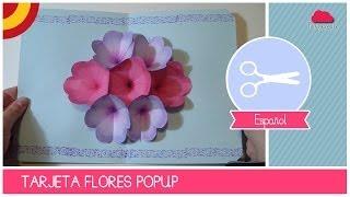 getlinkyoutube.com-Tarjeta de felicitación DIA DE LAS MADRES con Flores Pop-Up 3D (Manualidad DIY))
