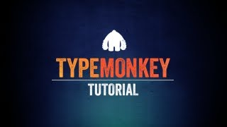 TypeMonkey Tutorial