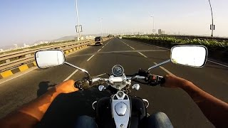 getlinkyoutube.com-Bajaj Avenger ride | 120 kmph