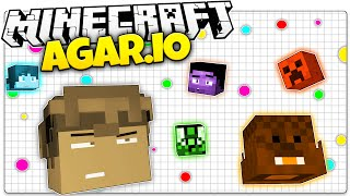 getlinkyoutube.com-Minecraft | AGAR.IO in Minecraft! | Blob Wars (Minecraft Agario)