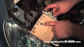getlinkyoutube.com-Clonación Computador de Peugeot 206 Sagem 2000