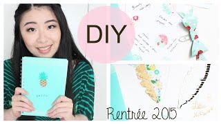 getlinkyoutube.com-Back to School 2015 • DIY | 3 petites créations