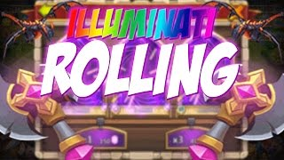 getlinkyoutube.com-Castle Clash Illuminate Rolling!