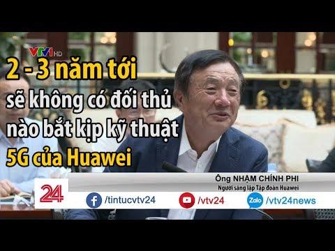 Đối phó lệnh cấm của Mỹ: Huawei phát triển hệ điều hành riêng, 5G mạnh nhất thế giới