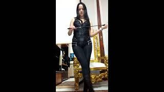 getlinkyoutube.com-Mistress Vivian, fetish mistress milano/Italy, padrona milano.