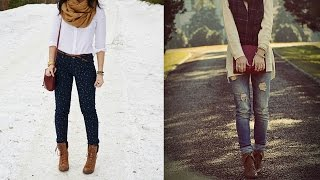 getlinkyoutube.com-20 Style Tips On How To Wear Lace Up Boots For Women