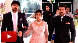 UNCUT: Srija's Wedding Reception FULL VIDEO | Chiranjeevi  | Lehren Telugu