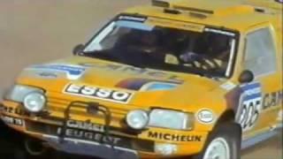 getlinkyoutube.com-1990 Paris-Tripoli-Dakar, movie Peugeot