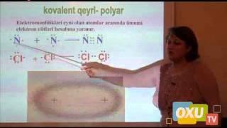 9 - cu sinif Kimya - Kimyəvi rabitə 1- ci hissə
