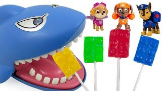 Colors with Paw Patrol Shark Nursery Rhyme Family Finger Song