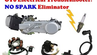 """GY6 Electrical Troubleshooting Tutorial - """"No Spark"""" Eliminator"""
