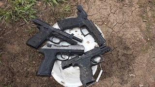 getlinkyoutube.com-PPQ, PT92, P-09, PX4 Pistol Mud Torture Test