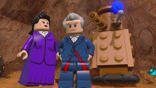 getlinkyoutube.com-LEGO Dimensions - Doctor Who Adventure World - Open World Free Roam (TARDIS, K-9)