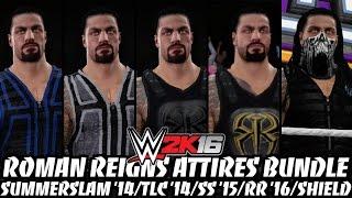 getlinkyoutube.com-WWE 2K16 - Roman Reigns Attires Bundle!