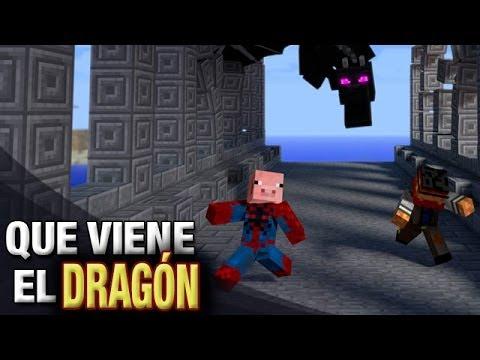 QUE VIENE EL DRAGÓN! | MINECRAFT MINI JUEGOS