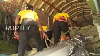 Sri Lanka: Russia flies in 32 tons of humanitarian aid for Sri Lanka flood victims