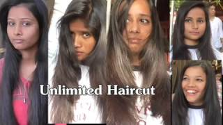 Open Air Haircut Series Epi # 4( Dry Front Layers Haircut Unlimited)