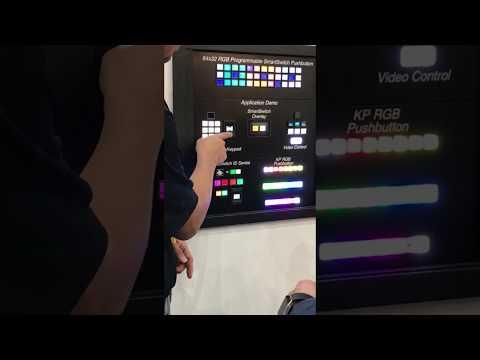 Video Control Button Dasboard