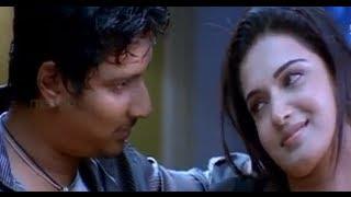 getlinkyoutube.com-Jeeva romancing with his girl - Simham Puli Movie Scenes - Santhanam, Divya Spandana, Honey Rose