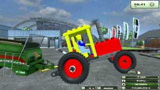 getlinkyoutube.com-Farming simulator 2013 mods Lego tractor