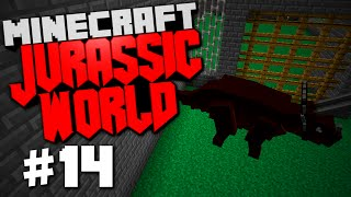 "Jurassic World | Minecraft Rexxit Modpack #14 ""Finishing Up Projects, Dino Pen Ideas"""
