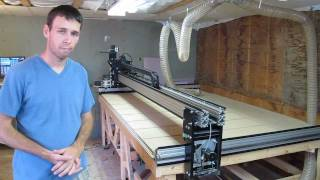Homemade CNC X axis explained