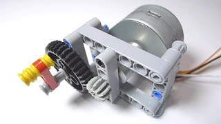 getlinkyoutube.com-LEGO Stepper Motor DIY Part 1: Make a LEGO Technic Bracket