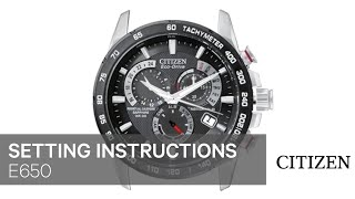 getlinkyoutube.com-CITIZEN E650 Setting Instruction