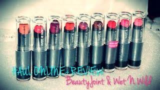 getlinkyoutube.com-❤ HAUL ONLINE + REVIEW (1): BeautyJoint & Wet N Wild (Enero '13) ❤