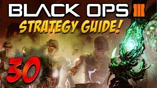 """getlinkyoutube.com-BLACK OPS 3 """"Shadows Of Evil"""" ROUND 30 Flawless Solo STRATEGY GUIDE Full Walkthrough! (BO3 Zombies)"""