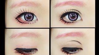 getlinkyoutube.com-How To : Makeup Fix 5 - Female Anime Eye
