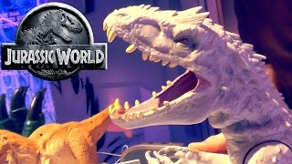 getlinkyoutube.com-Jurassic World - Indominus Rex (Lights, Sounds, Motion) Toy