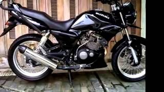 getlinkyoutube.com-Modifikasi Motor Suzuki Thunder 125 cc And Knalpot custom yoshimura satria fu