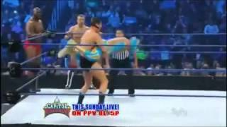 getlinkyoutube.com-Best Moves & Finishers Of Sin Cara (WWE)