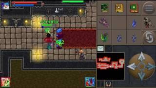 TibiaME- Evil Castle - Nightmaree lvl 191 And Jamato lvl 168