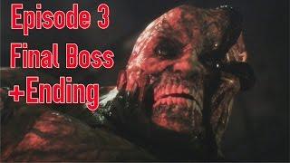 getlinkyoutube.com-Resident Evil Revelations 2: Episode 3 Clair's Final Boss + Ending ( PS4/1080p )