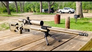 getlinkyoutube.com-Bushnell Elite Tactical ERS 3.5-21x50mm scope review and Zero Stop setup.